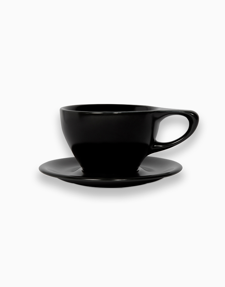 Lino Coffee Cups 12 oz. Large Latte by notNeutral | Black