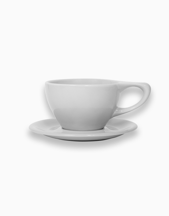 Lino Coffee Cups 12 oz. Large Latte by notNeutral | Light Gray