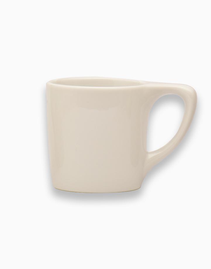 Lino Coffee Mugs 10 oz. (White) by notNeutral