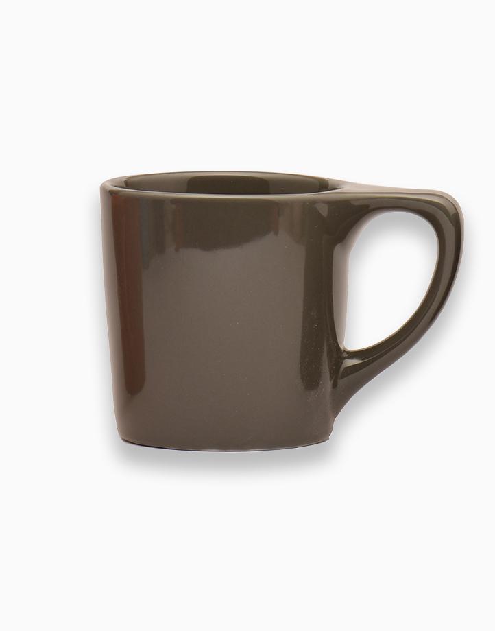 Lino Coffee Mugs 10 oz. by notNeutral   Gray