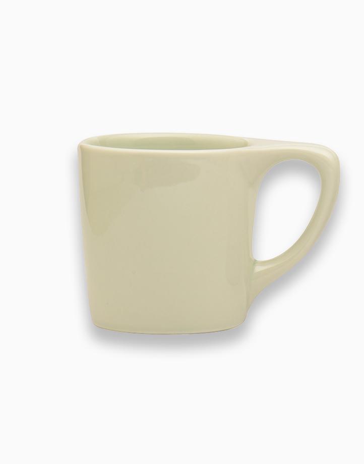 Lino Coffee Mugs 10 oz. by notNeutral   Sage Green
