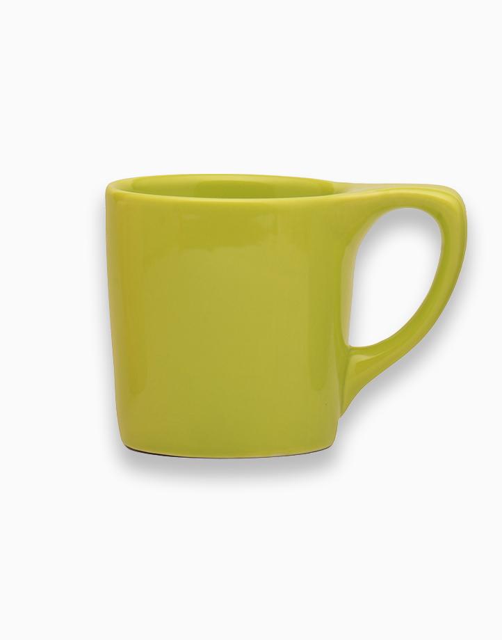 Lino Coffee Mugs 10 oz. by notNeutral   Light Green