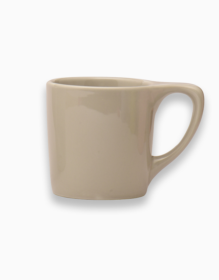 Lino Coffee Mugs 10 oz. by notNeutral   Light Gray