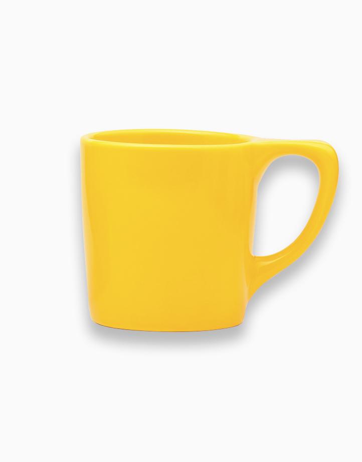 Lino Coffee Mugs 10 oz. by notNeutral   Yellow
