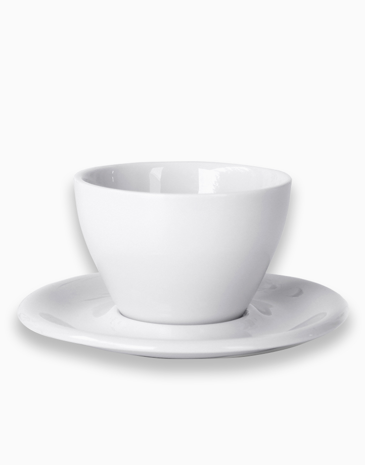 Meno Coffee Cups 8 oz. Small Latte (White) by notNeutral
