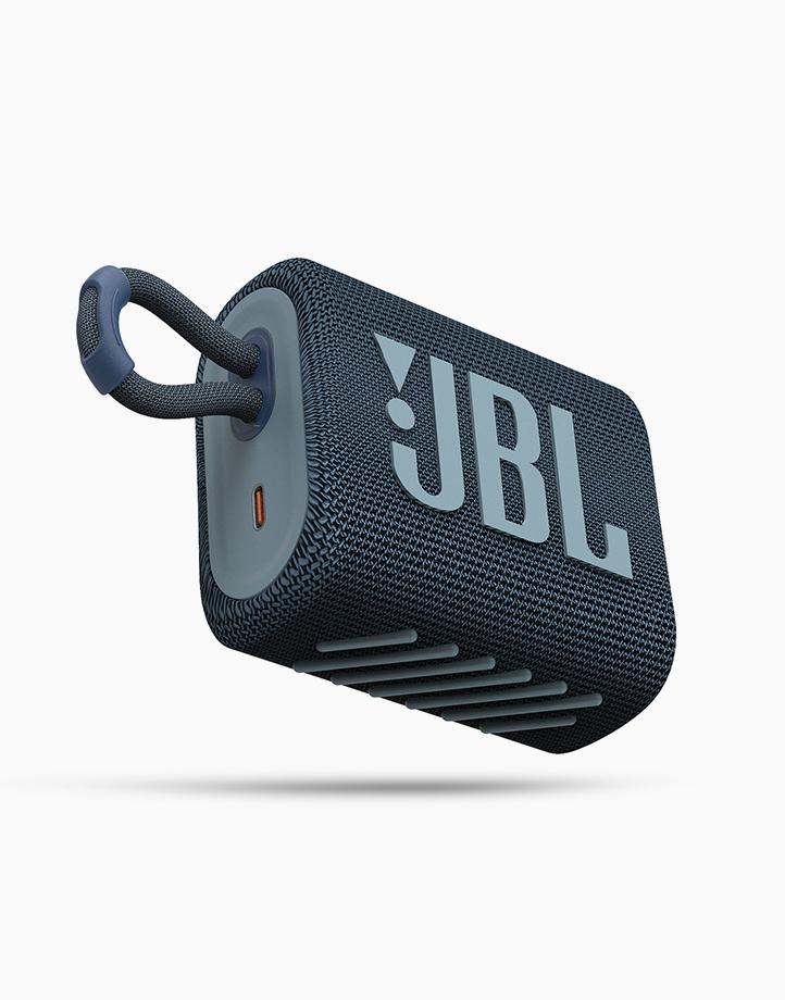 Go 3 Portable Waterproof Speaker by JBL | Blue