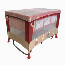 Akeeva ohrid regular playpen red 1