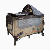 Akeeva calibri playpen brown 1