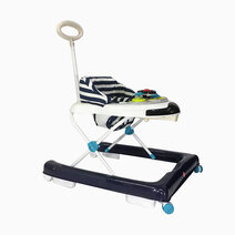 Akeeva u shape walker w handle blue 1