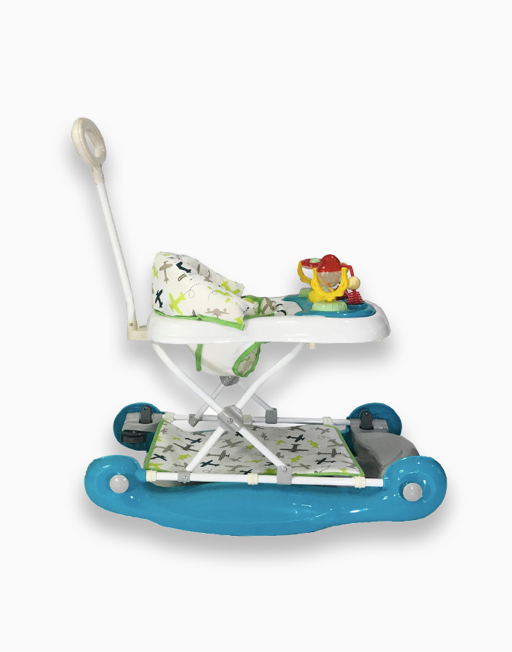Rock/Bounce Walker with Handle by Akeeva   Blue