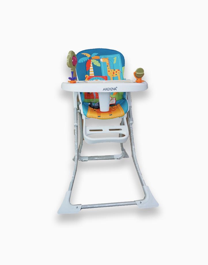 Coco High Chair by Akeeva | Aqua