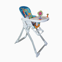Akeeva coco high chair aqua 1