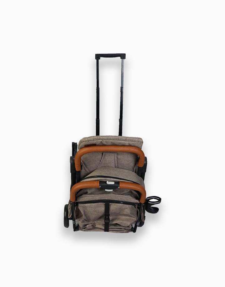 Esmio Travel Stroller by Akeeva | Coffee