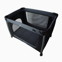Akeeva sage luxury playpen black 1