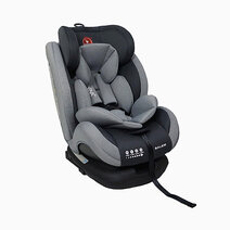 Akeeva balem isofix latch carseat grey 1