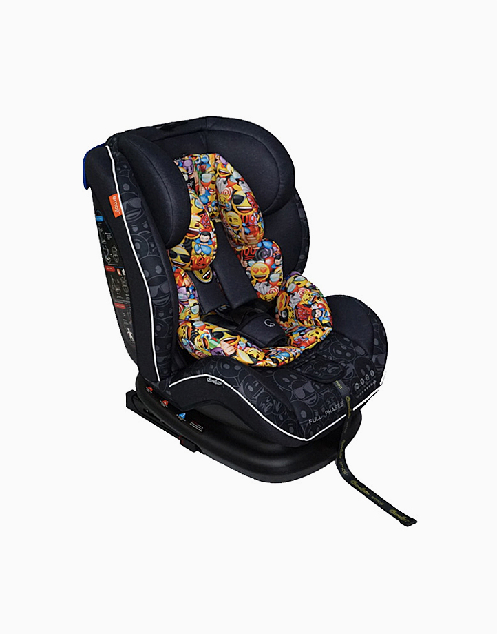 Akeeva x Cocolatte Fullphase Carseat (Black) by Akeeva