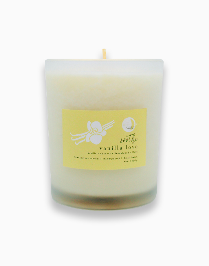 Vanilla Love Luxury Candle (120g) by Artemis Luxe