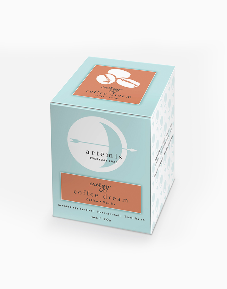 Coffee Dream Luxury Candle (120g) by Artemis Luxe