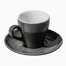 Egg Coffee/Tea Cup & Saucer 80ml by Orion.