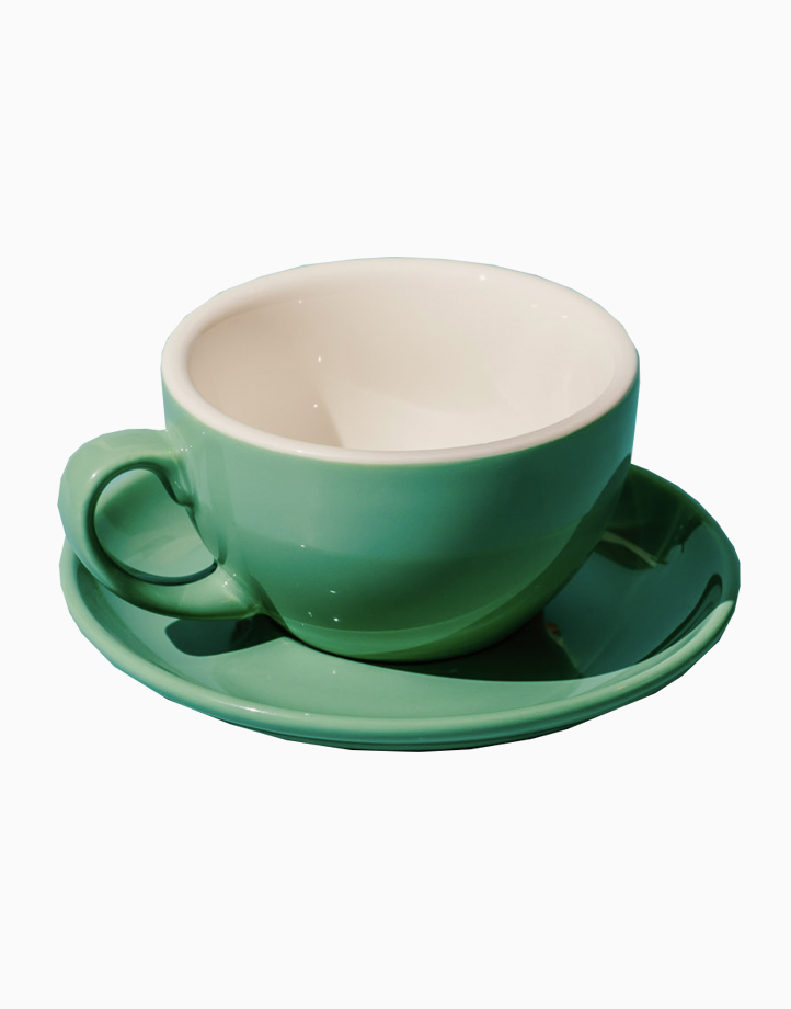 Egg Coffee/Tea Cup & Saucer 220ml by Orion. | Jade