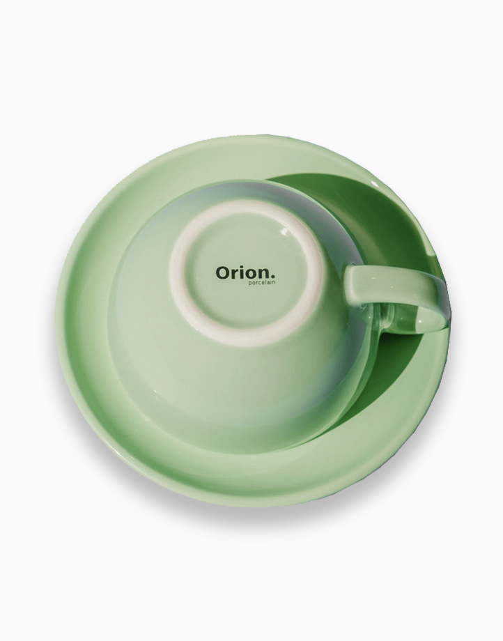 Egg Coffee/Tea Cup & Saucer 220ml by Orion. | Mint