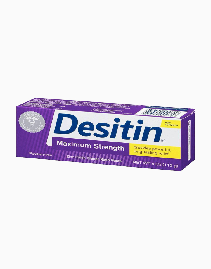 Maximum Strength Diaper Rash Paste with Zinc Oxide (4oz) by Desitin