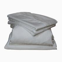 Re 100 bamboo viscose bedding set   white