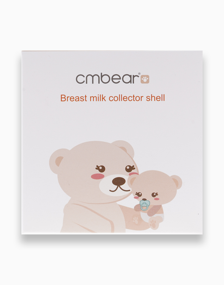 Breast Milk Saver Collector Shells with Plug (2 Pcs.) by CMBear