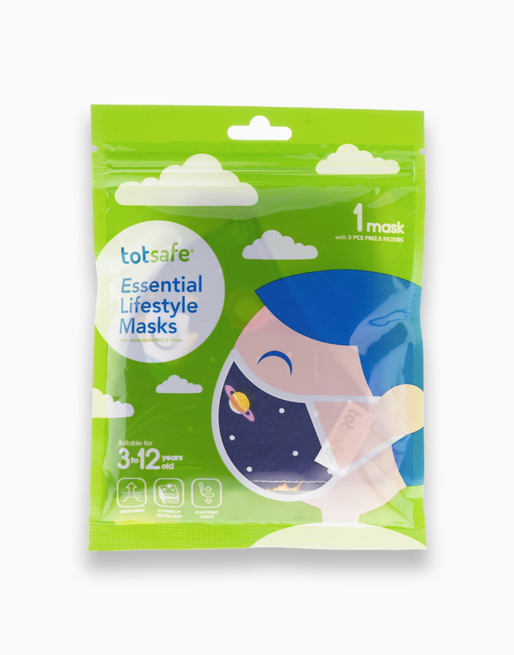 Totsafe Essential Lifestyle Mask by Totsafe | Outer Space II