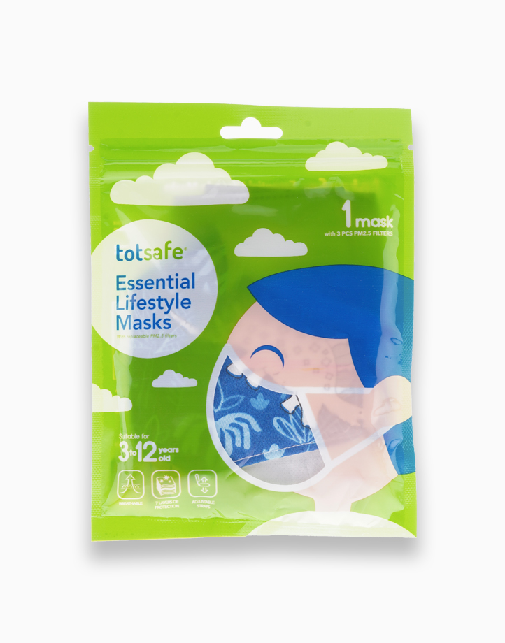 Totsafe Essential Lifestyle Mask by Totsafe | Dinosaur Blue