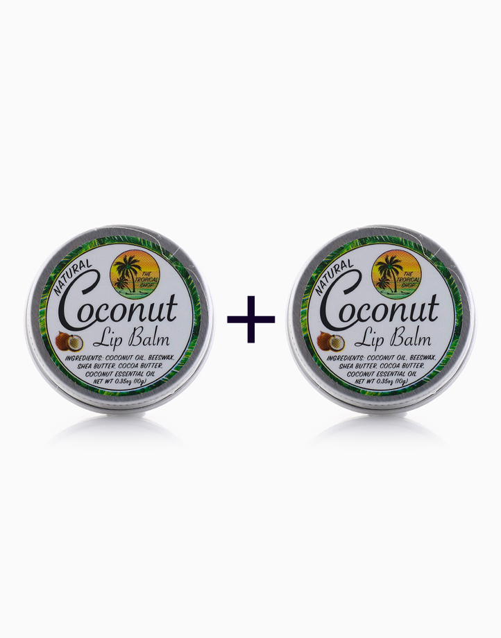 Natural Coconut Lip Balm (Buy 1, Take 1) by The Tropical Shop
