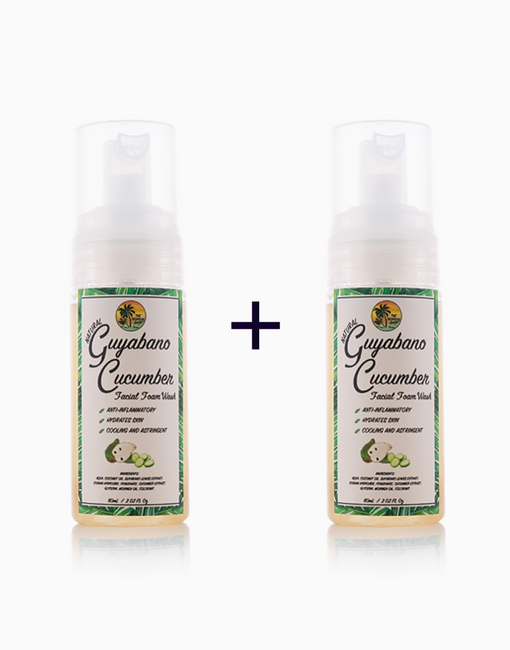 Guyabano Natural Facial Foam Wash (Buy 1, Take 1) by The Tropical Shop