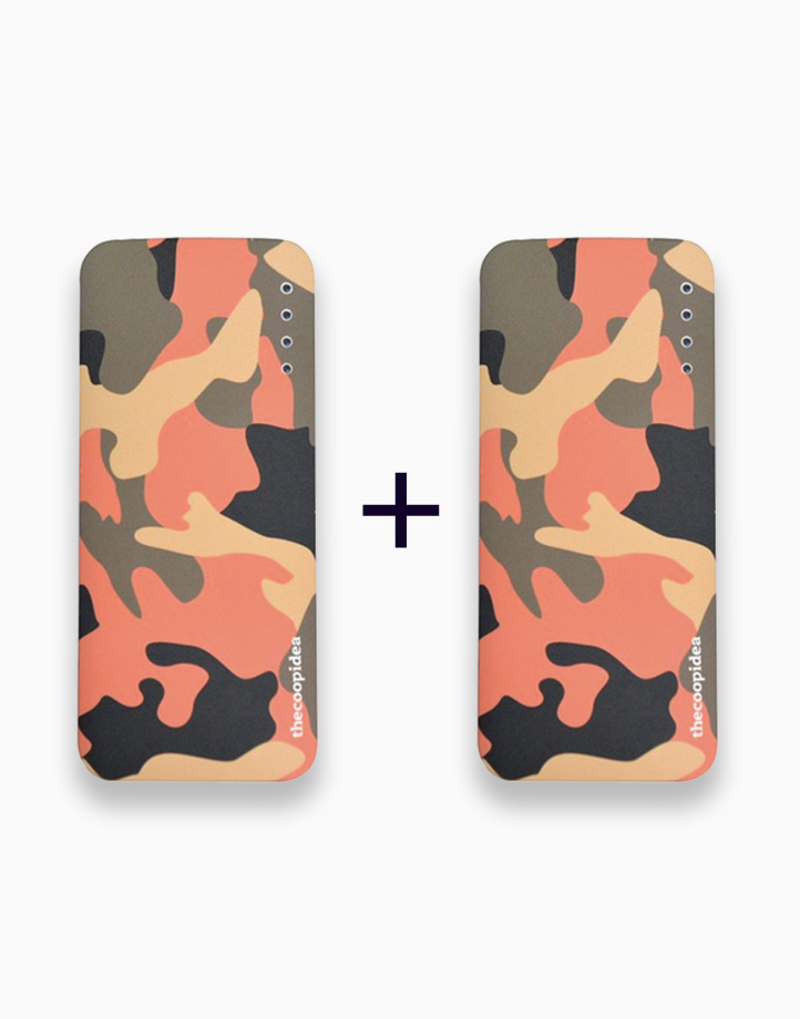 Gummy Mini Camo 5200mAh 2.4A Powerbank (Buy 1, Take 1) by thecoopidea   Pink