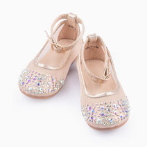 Cheyenne Maryjanes for Girls (Toddlers/Kids) - Gold by Meet My Feet