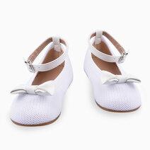 Kelly Ballet Flats (Kids) - White by Meet My Feet