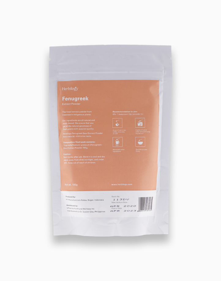 Fenugreek Extract Powder (100g) by Herbilogy