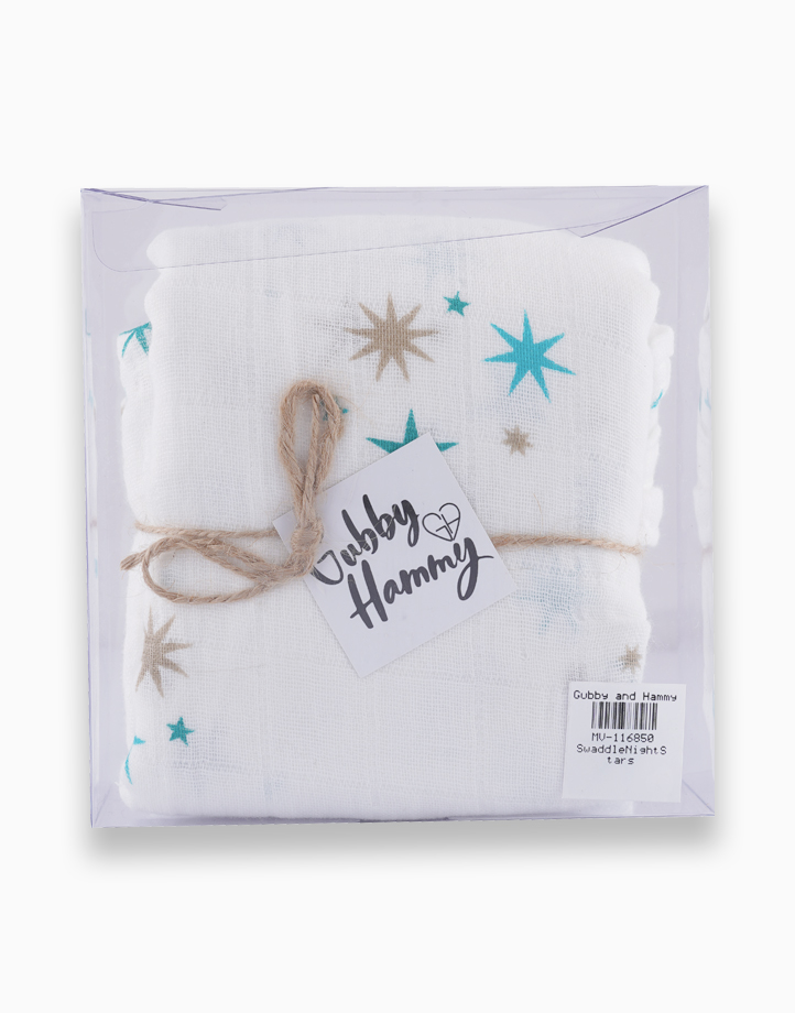 Swaddle by Gubby and Hammy | Night Stars