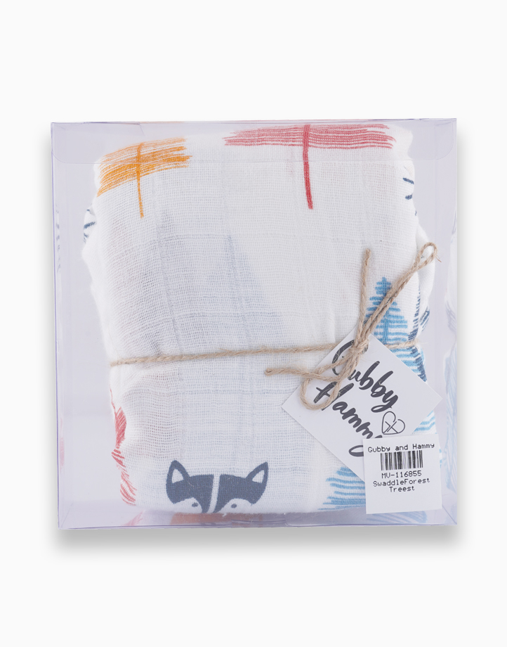 Swaddle by Gubby and Hammy | Forest Treest