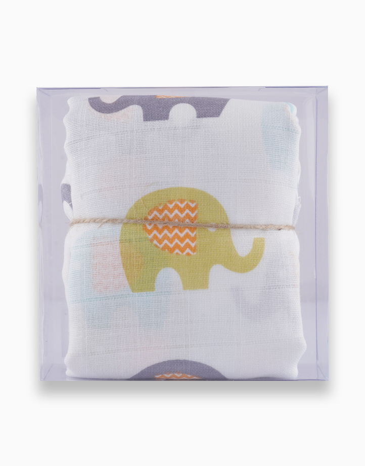 Swaddle by Gubby and Hammy | Ellie Elephant