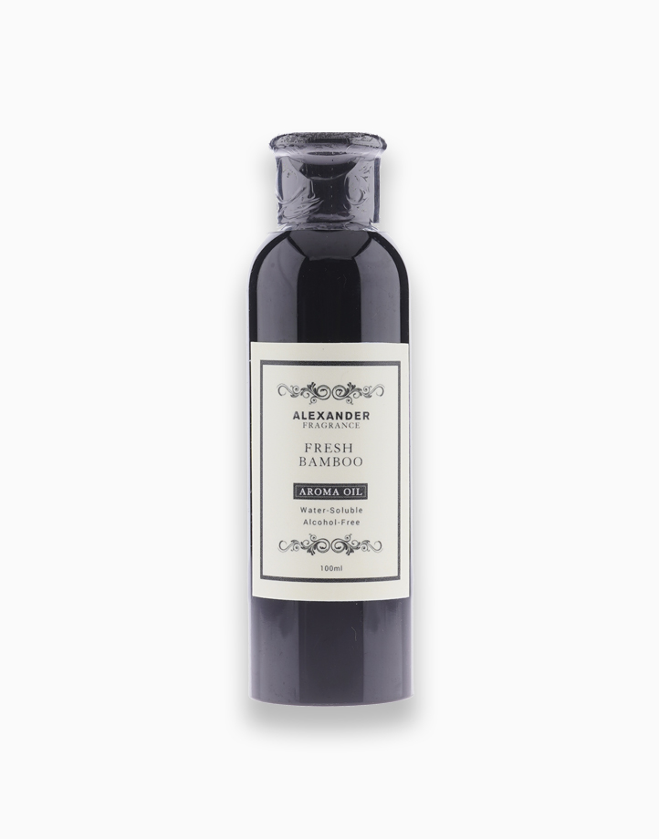 Fresh Bamboo Water-Soluble Aroma Oil (100ml) by Alexander Fragrance
