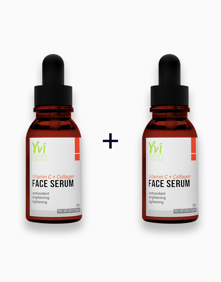 Vitamin C+ Collagen Face Serum (Buy 1, Take 1) by YVI Skin Care Products