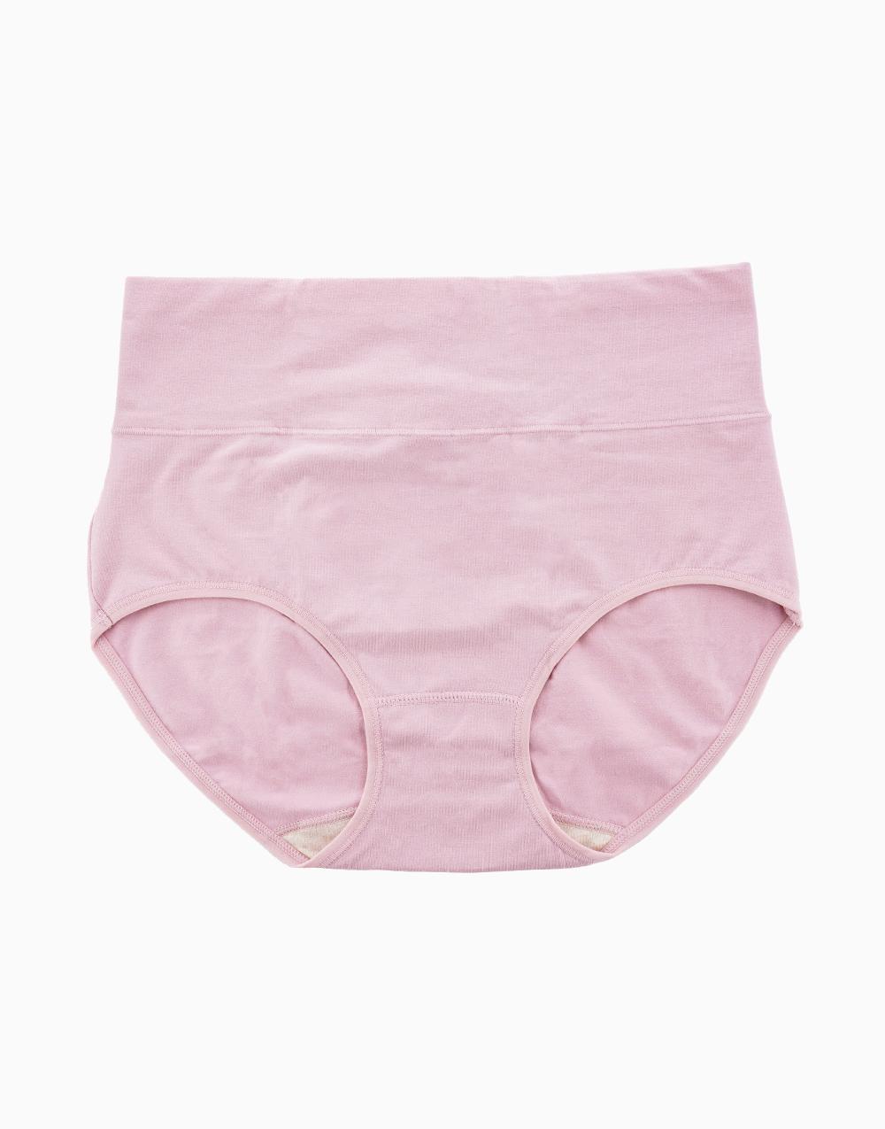 Belly Bikinis in Blush Pink (Set of 3 High Rise Control Panties) by Jellyfit   Medium