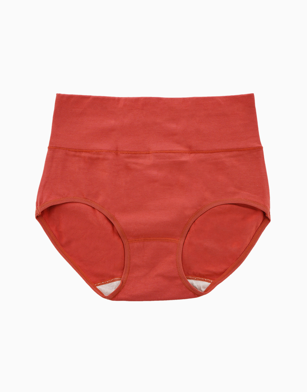 Belly Bikinis in Brick Red (Set of 3 High Rise Control Panties) by Jellyfit | Small