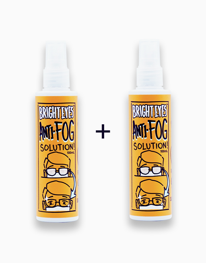 Bright Eyes Anti-Fog Solution 100mL (New Packaging) (Buy 1, Take 1) by Vivo Lumio