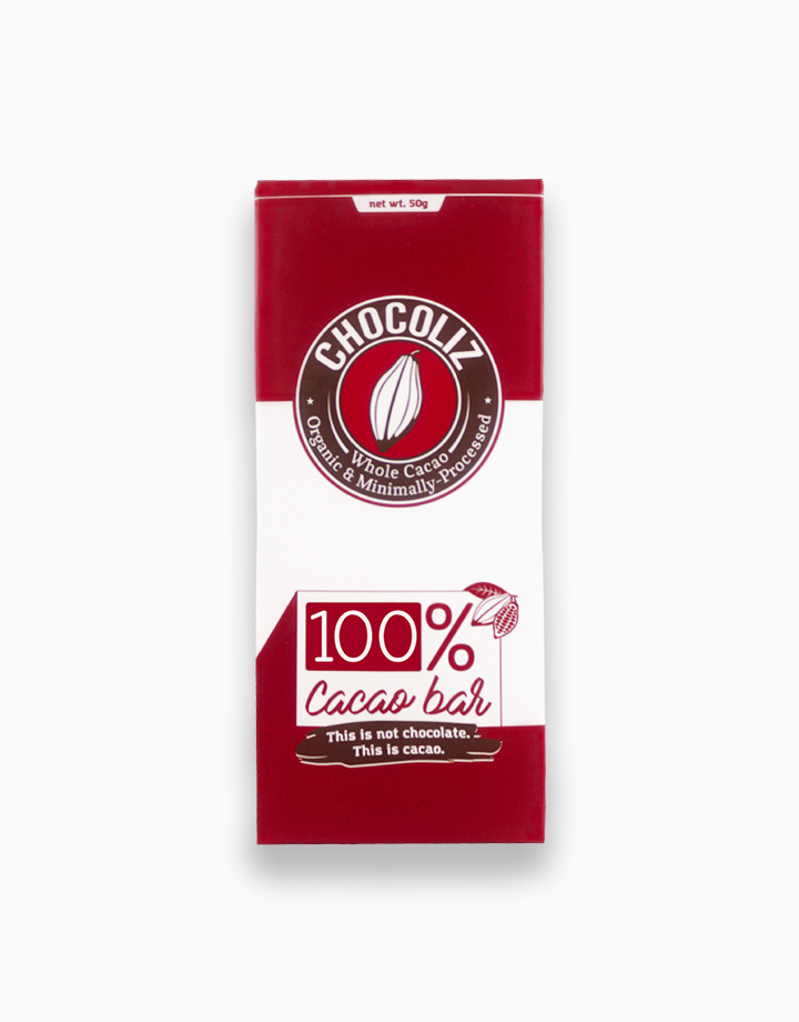 100% Pure Cacao Bar by Chocoliz