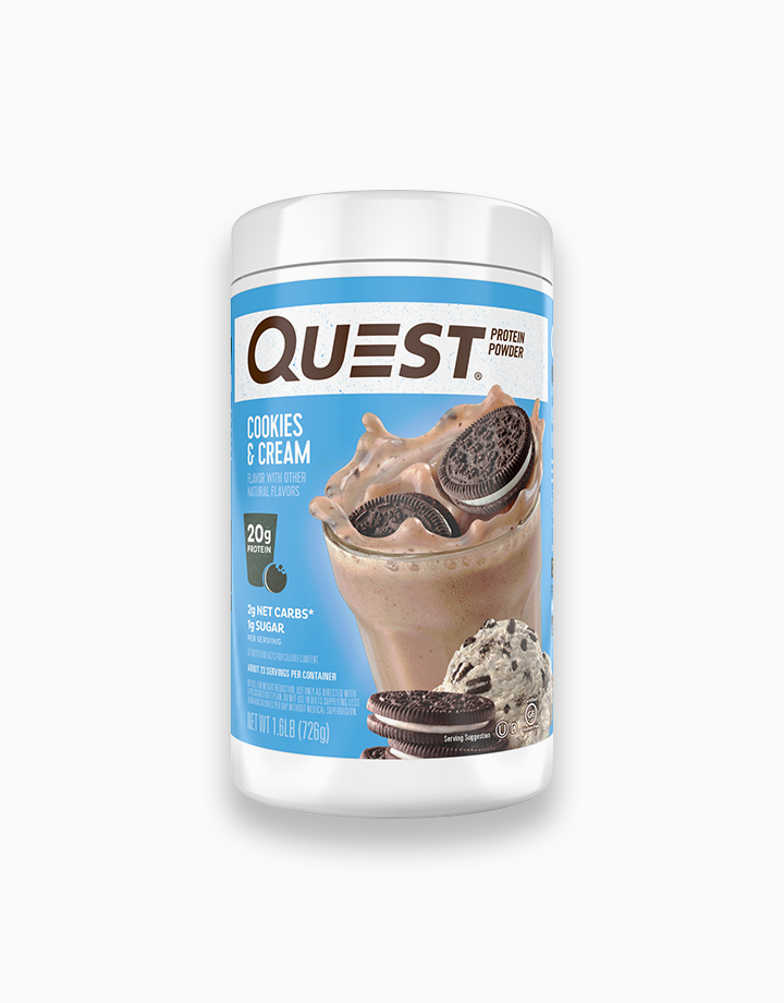 Cookies & Cream Quest Protein Powder (1.6 lb.) by Quest