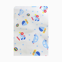 Lulubabyph absorbent crib pad cars