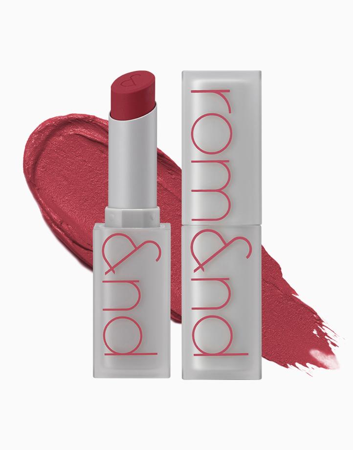Zero Matte Lipstick by Rom&nd | Before Sunset