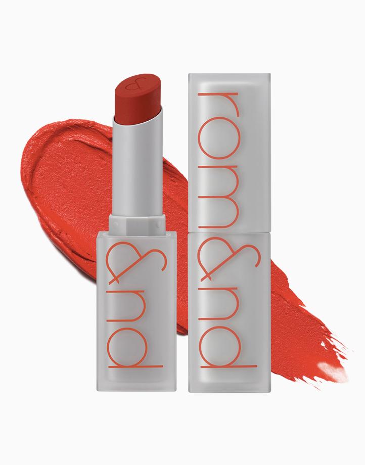 Zero Matte Lipstick by Rom&nd | Dazzle Red