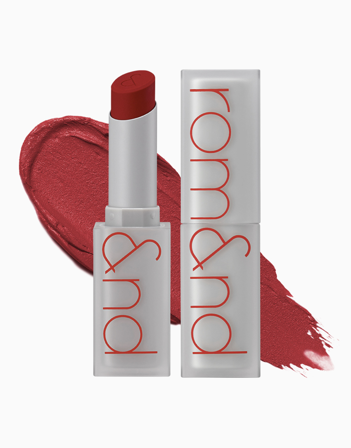 Zero Matte Lipstick by Rom&nd | Tanning Red